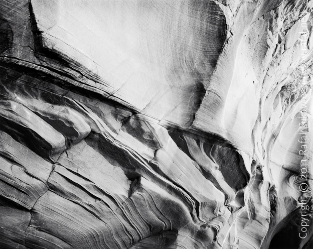 Canyon X, Sandstone Wall