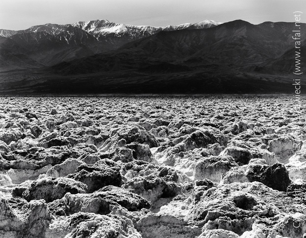 Devil's Golf Course and Telescope Peak, Death Valley
