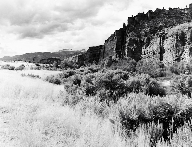 Shoshone River Before a Storm, past Wapiti