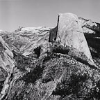 Half Dome Above Vernal Falls, Yosemite