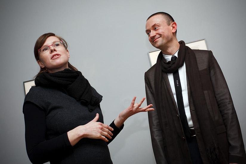 Karolina Vyšata and Rafal Lukawiecki