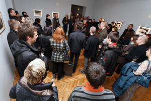 Opening Night of (Be)Longing Exhibition in Kraków at Stained Glass Museum