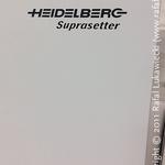 Heidelberg Suprasetter That Made Better Offset Plates for Me