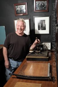 Kim Weston Shows Edward Weston's Mounting Press